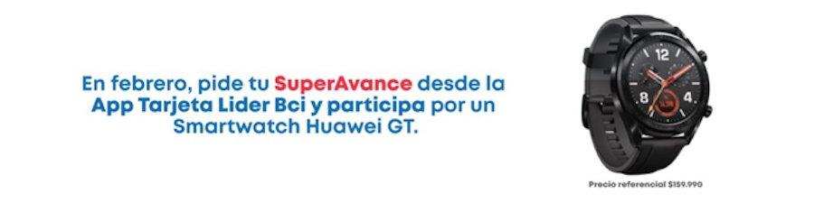 Ganadores concurso Smartwatch Superavance Tarjeta Lider Bci