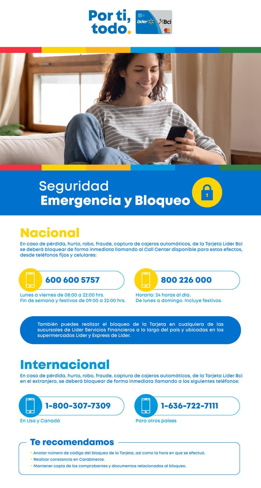 Emergencias y Bloqueos
