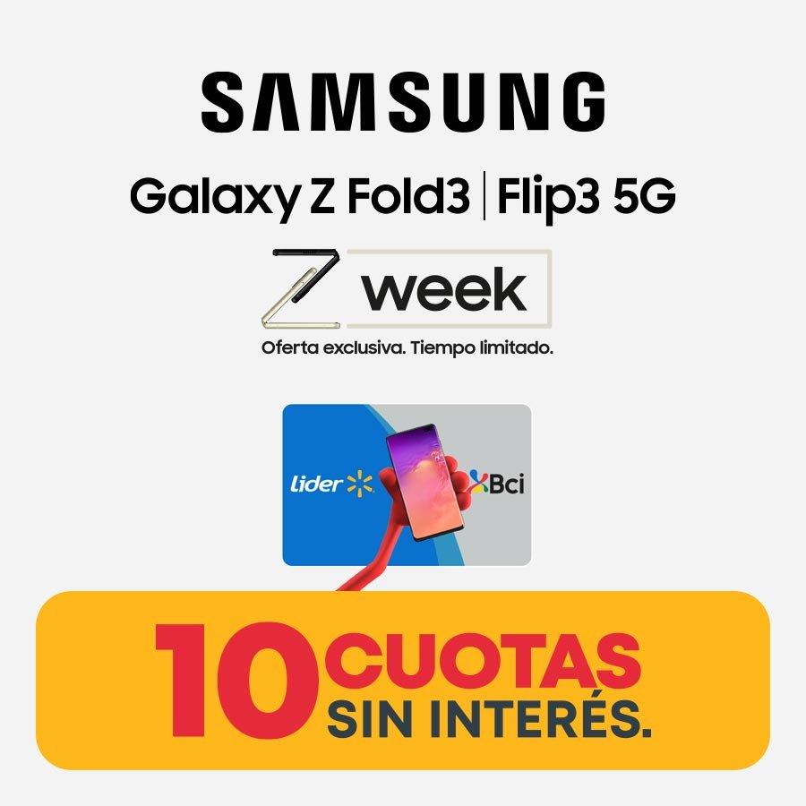 10 cuotas sin interés Samsung